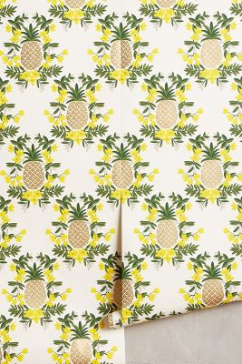 Pineapple Welcome Wallpaper