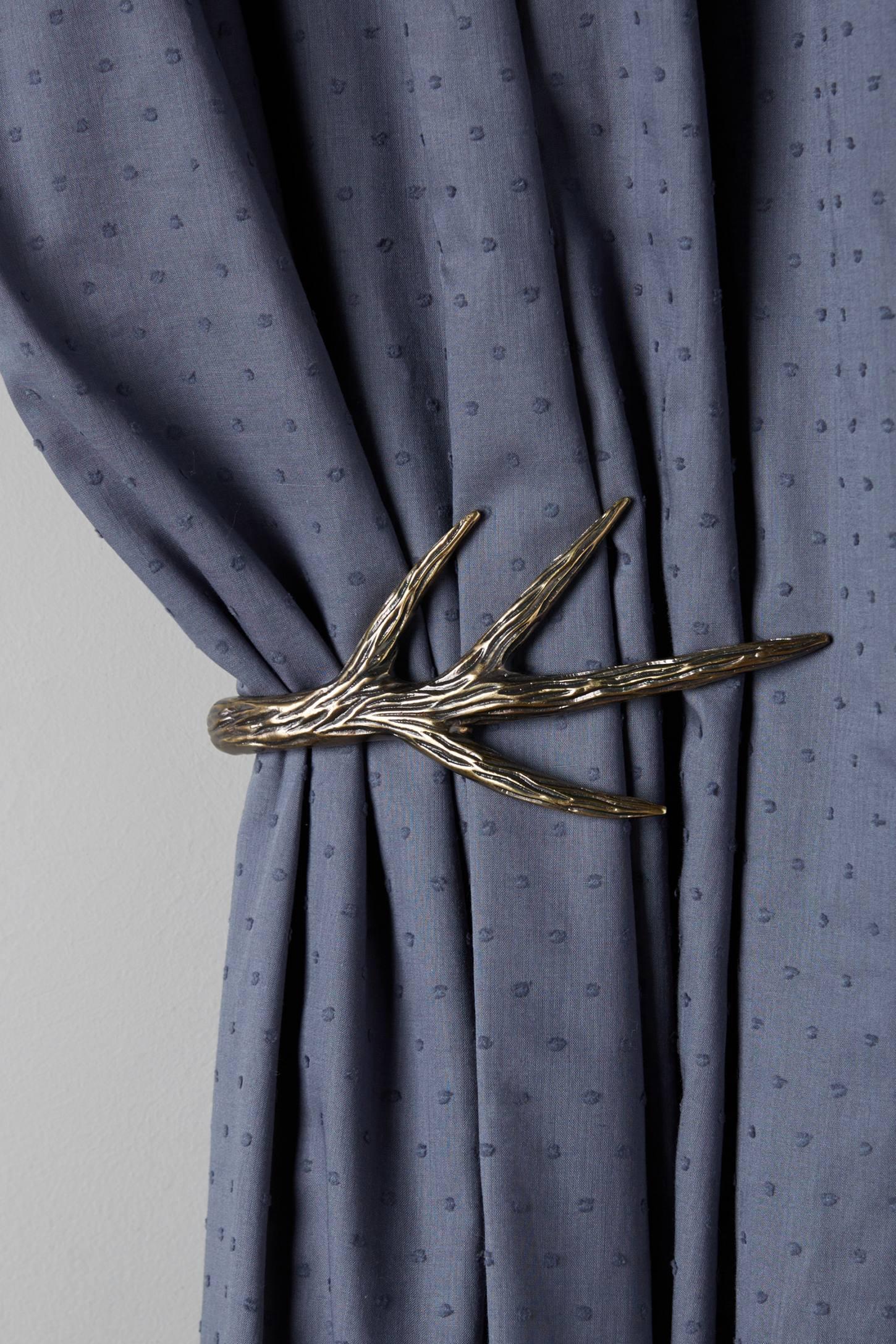 Curved Antler Tie Back