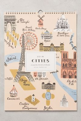 Cities 2016 Calendar