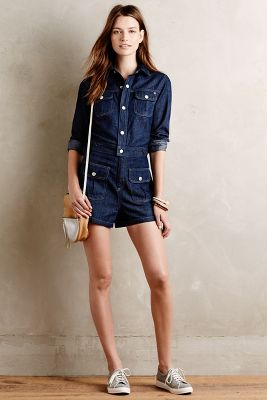 Alexa Chung for AG Denim Romper