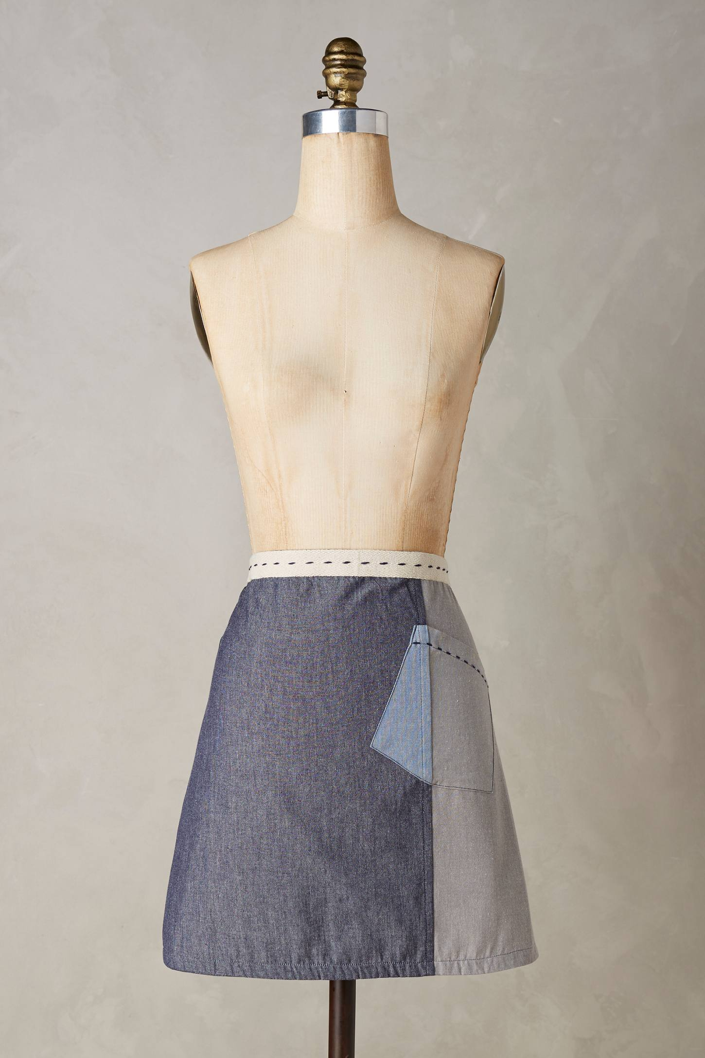 Patch Pocket Apron