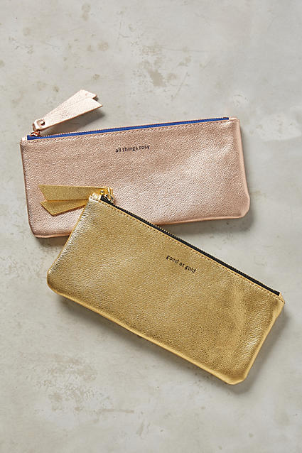Gilded Parisienne Pencil Case