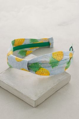 Striped Pineapple Headband