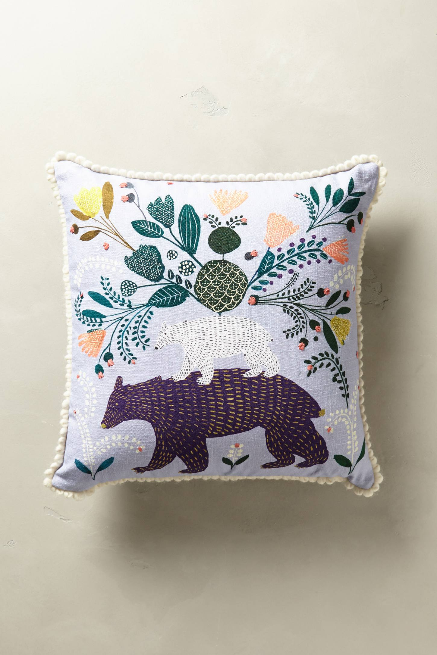 Everglade Embroidered Pillow