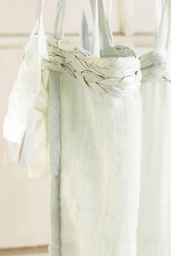 Cotton Tie-Top Curtain