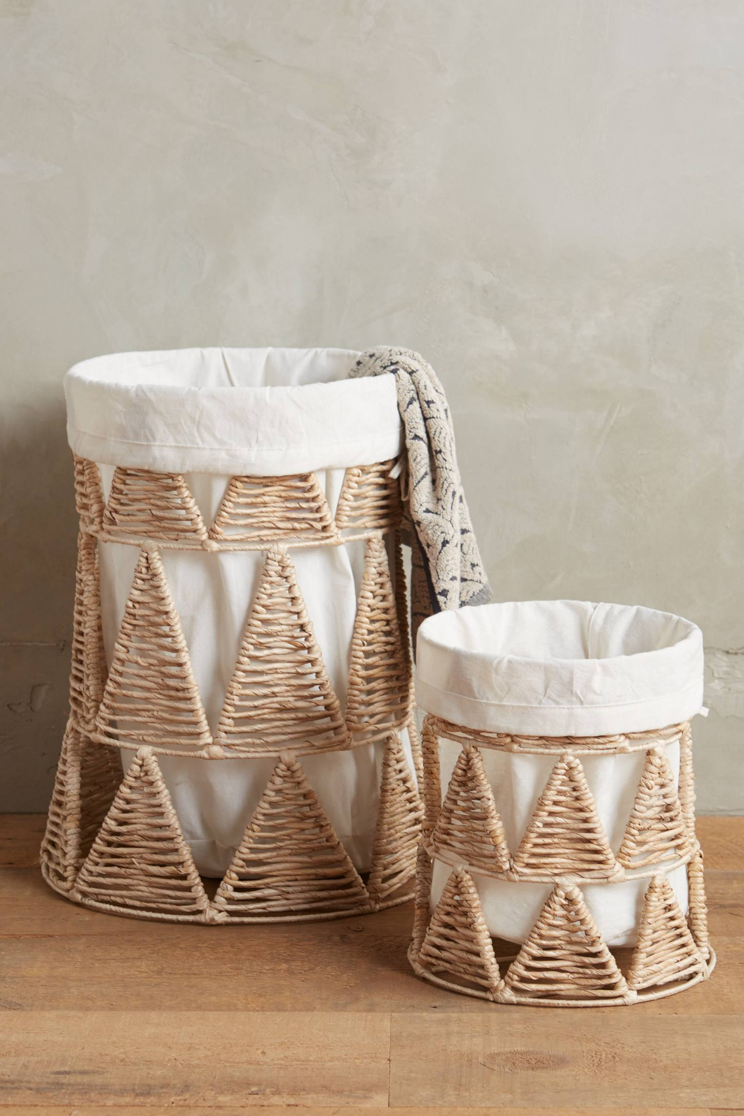 Woven-Wedge Baskets