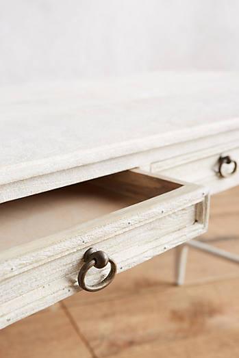 Washed Wood Desk