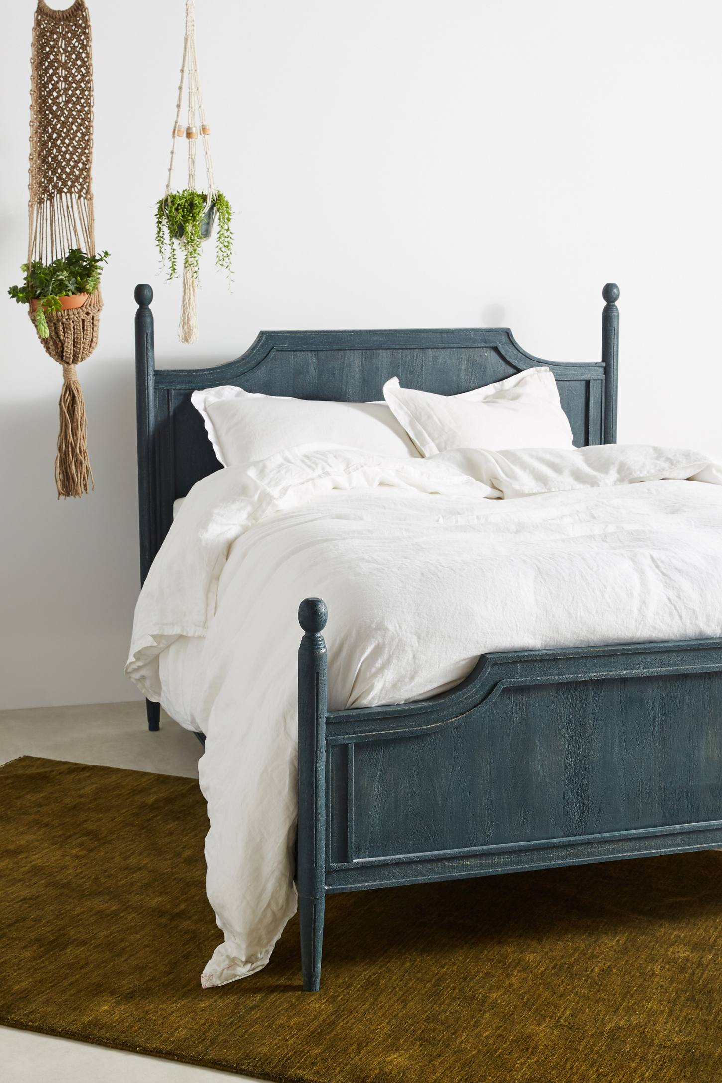 Beaumont Washed Wood Bed