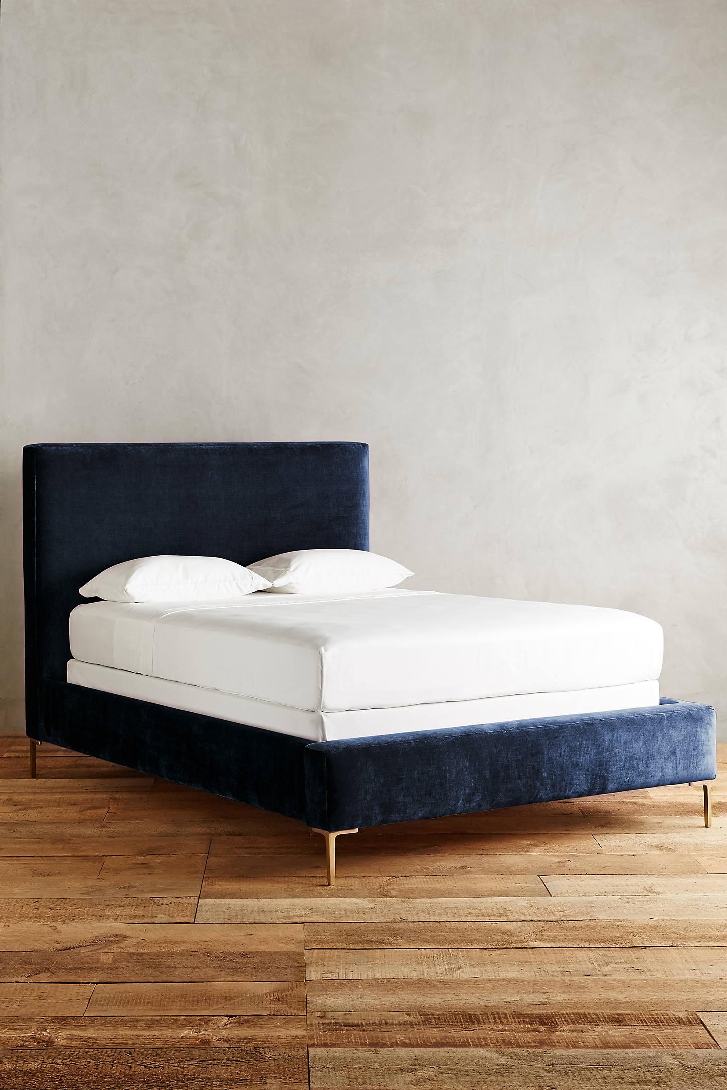 Slub Velvet Edlyn Bed