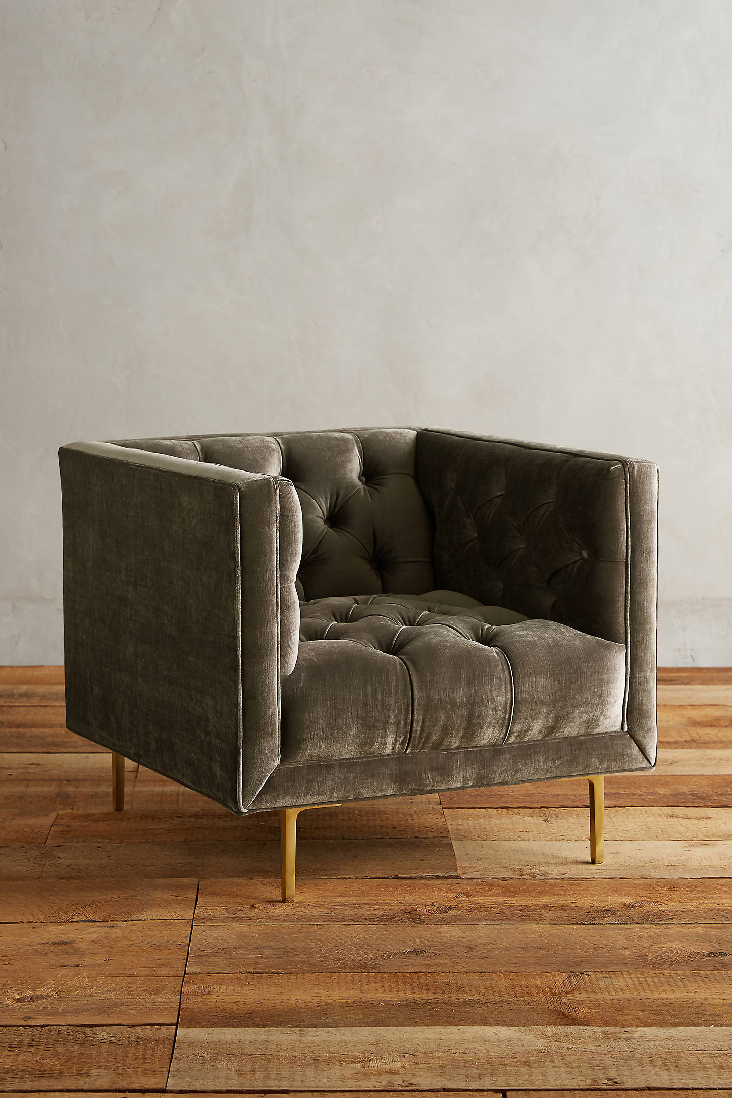 Slub Velvet Mina Chair