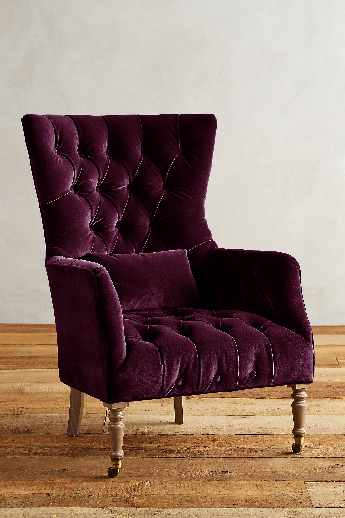 Velvet Julienne Chair