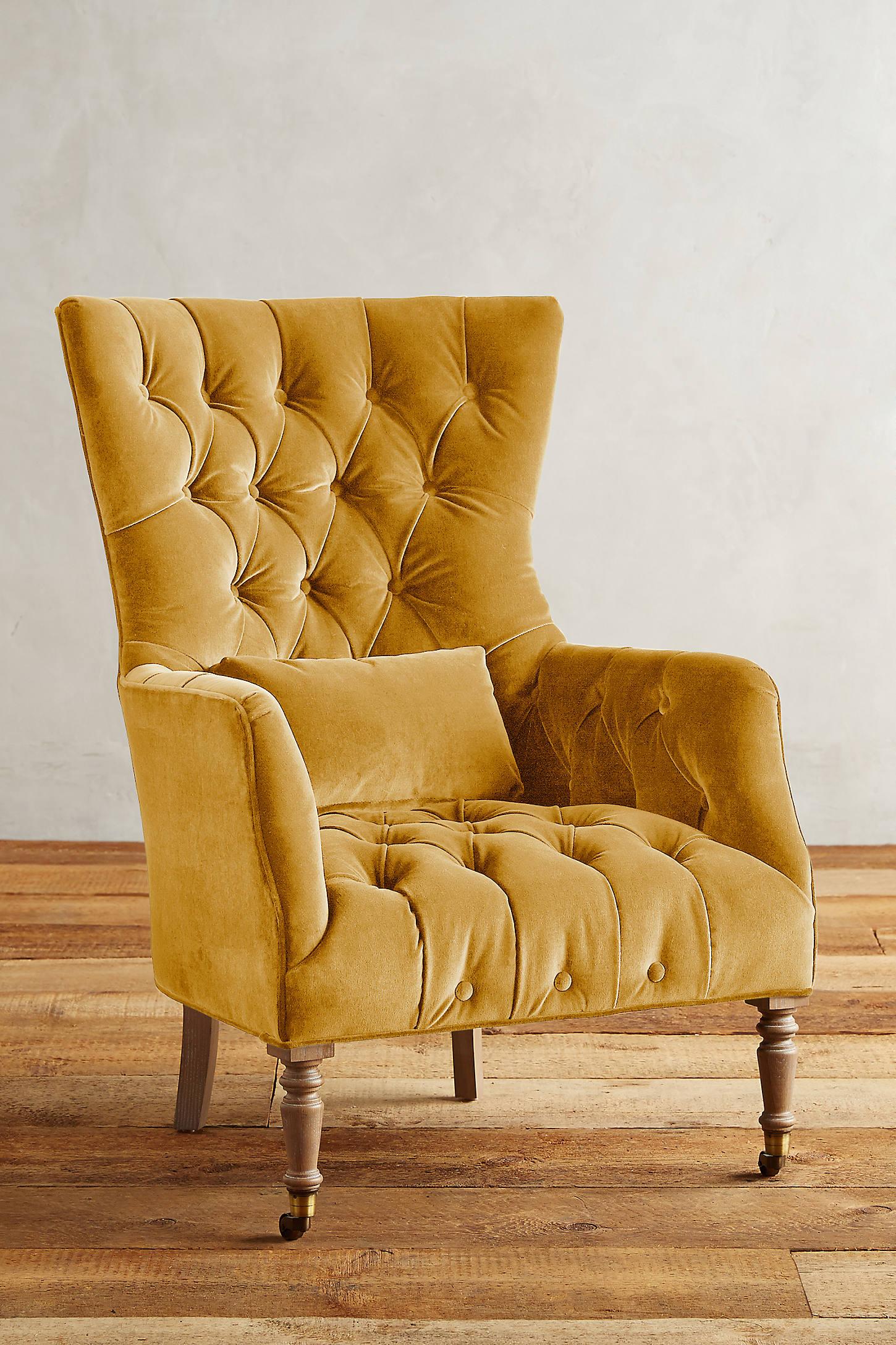 Velvet Julienne Chair