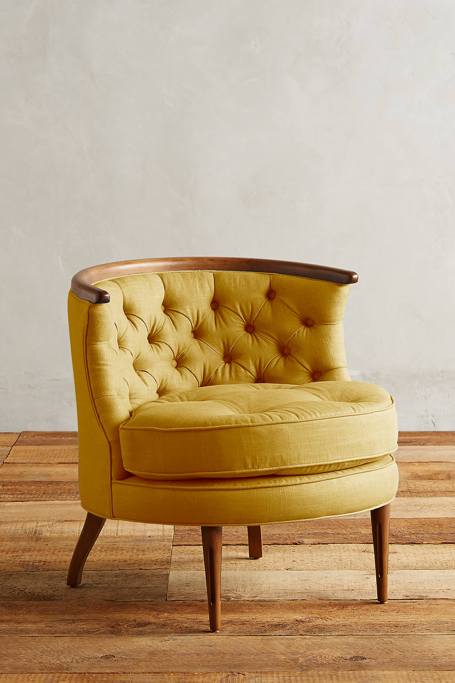 Linen Bixby Chair