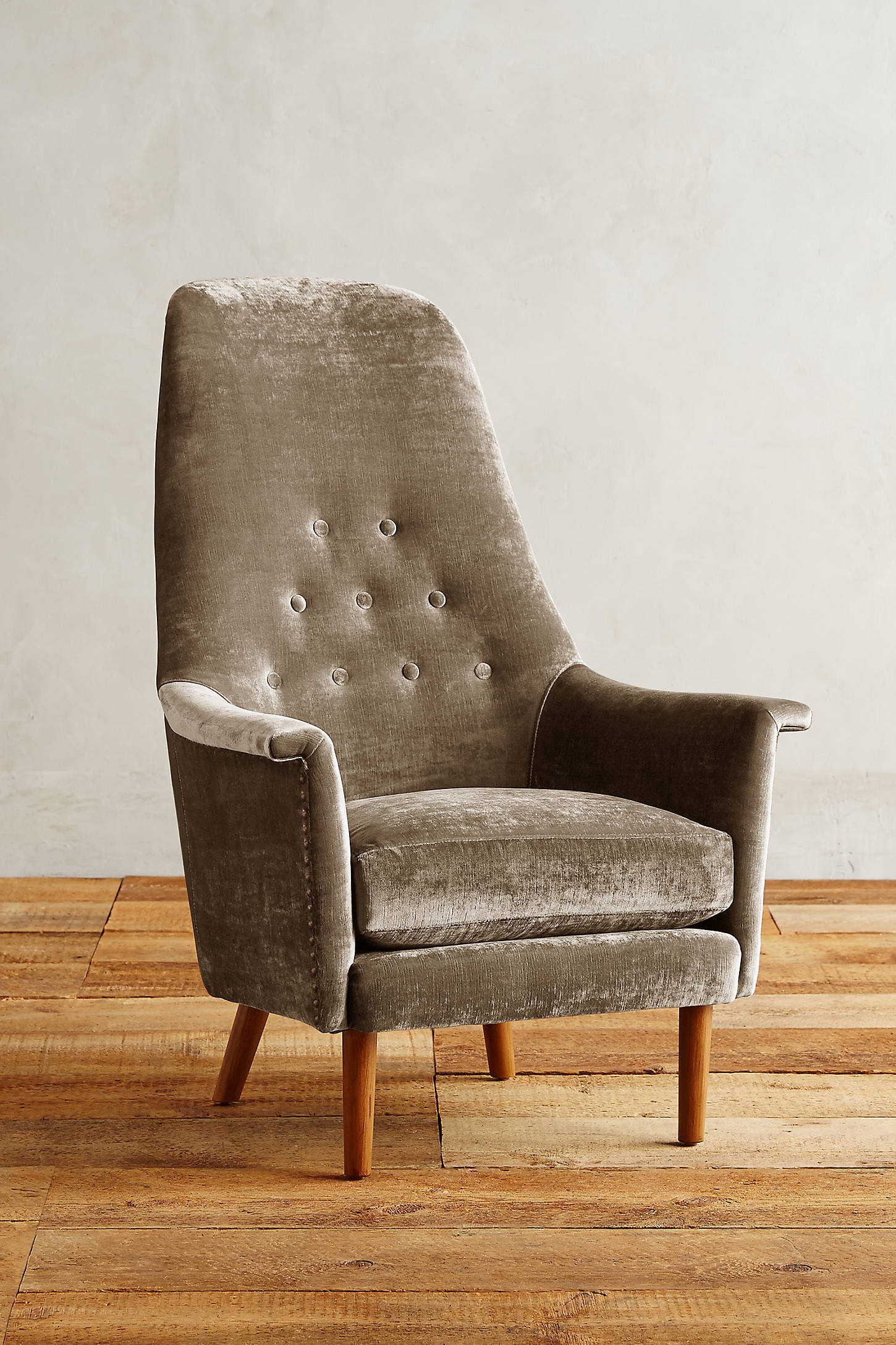 Slub Velvet Alistair Chair