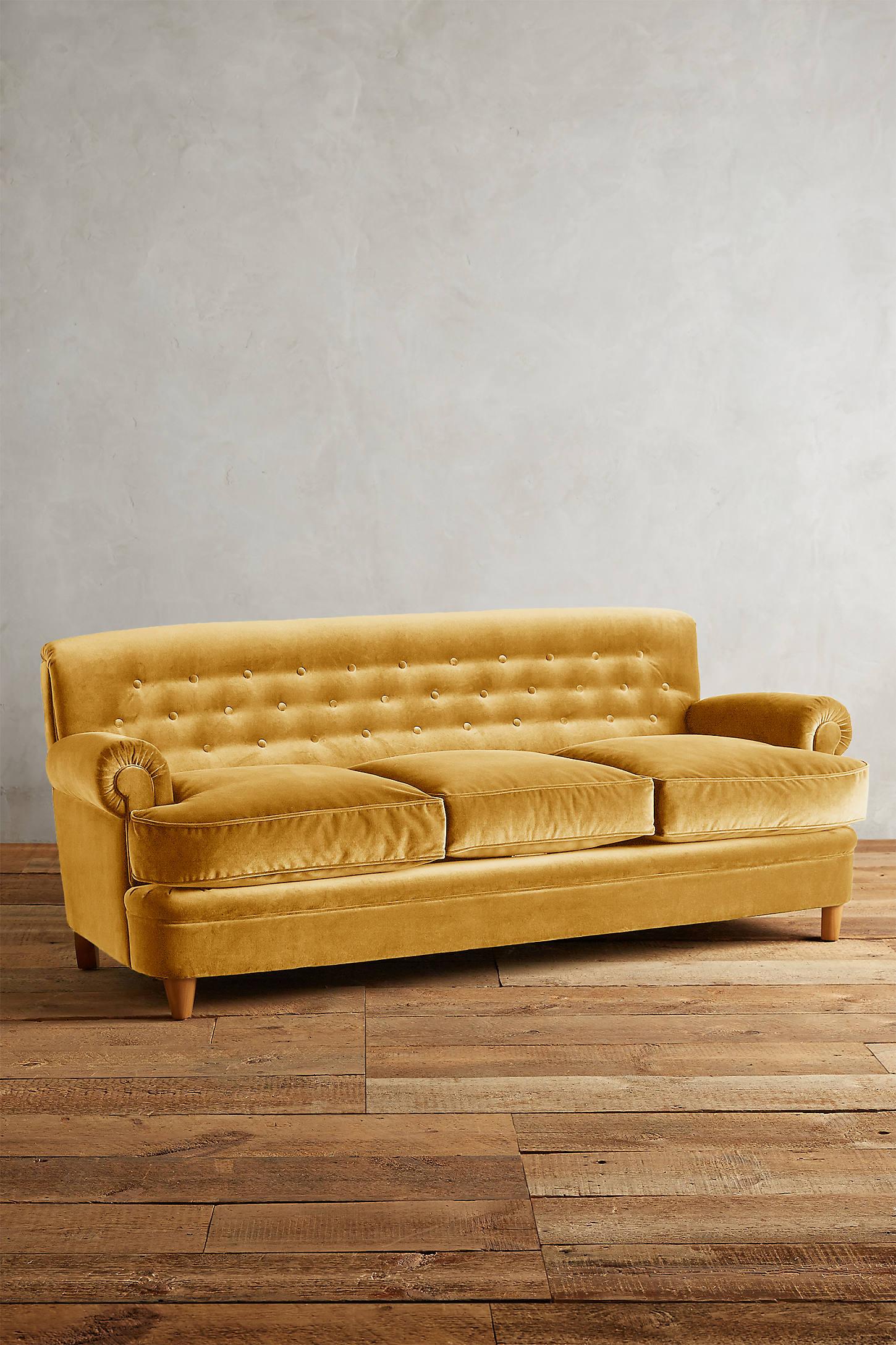 Velvet Kimmeridge Sofa