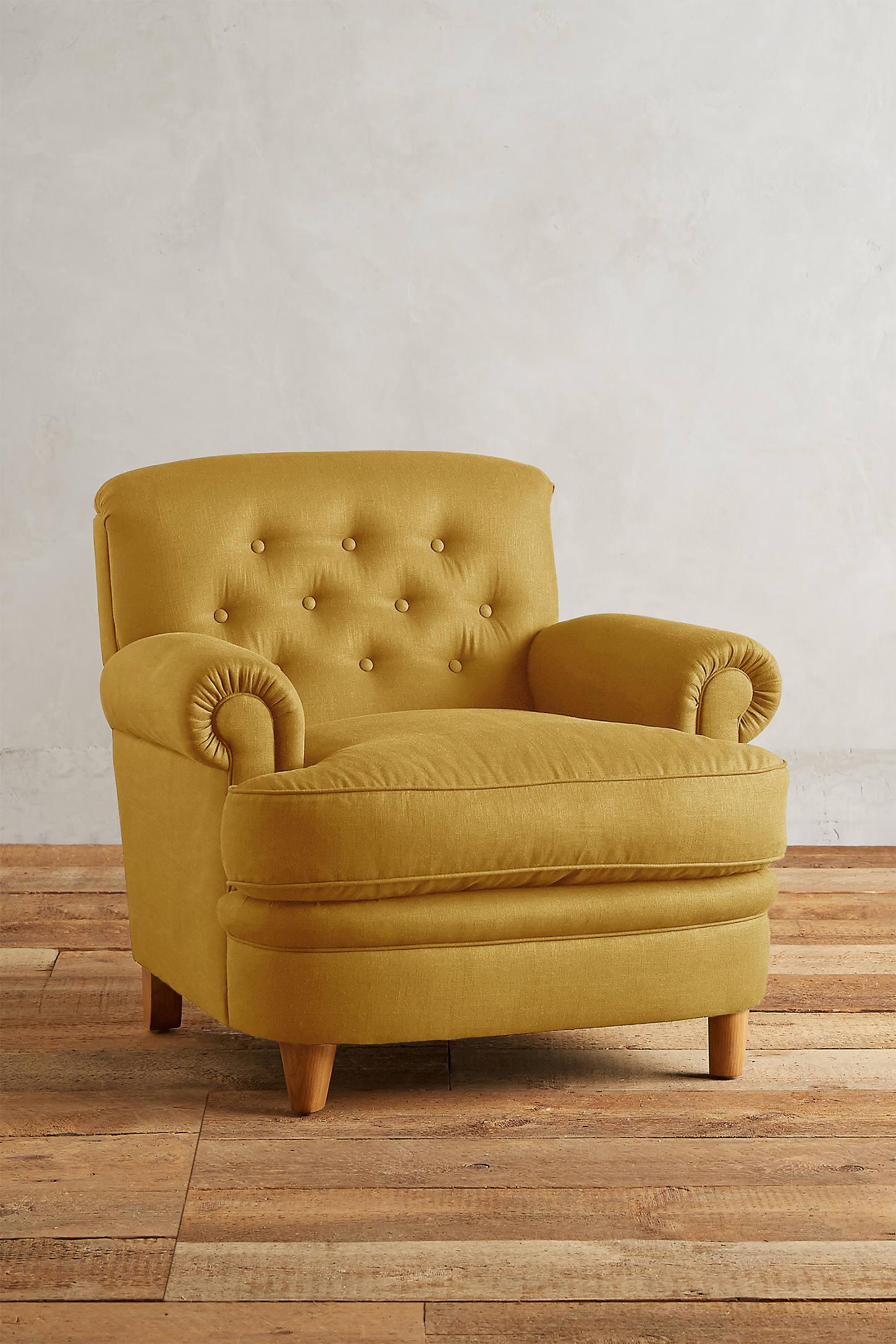 Linen Kimmeridge Armchair