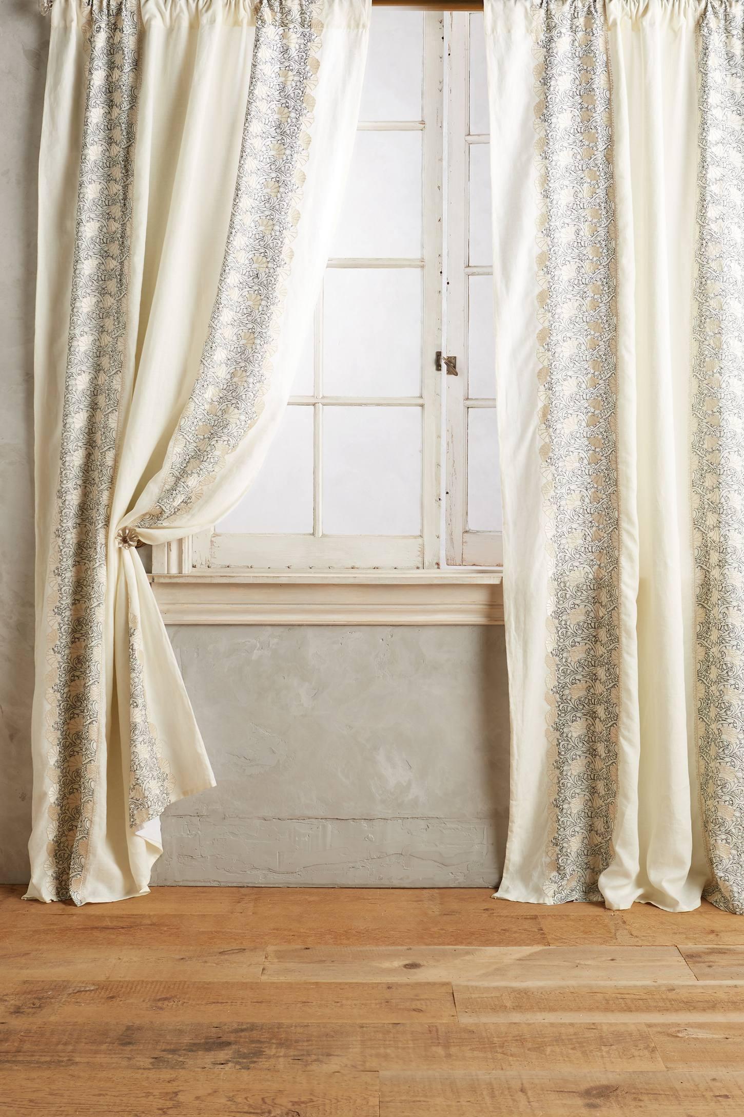 Embroidered Hilvi Curtain