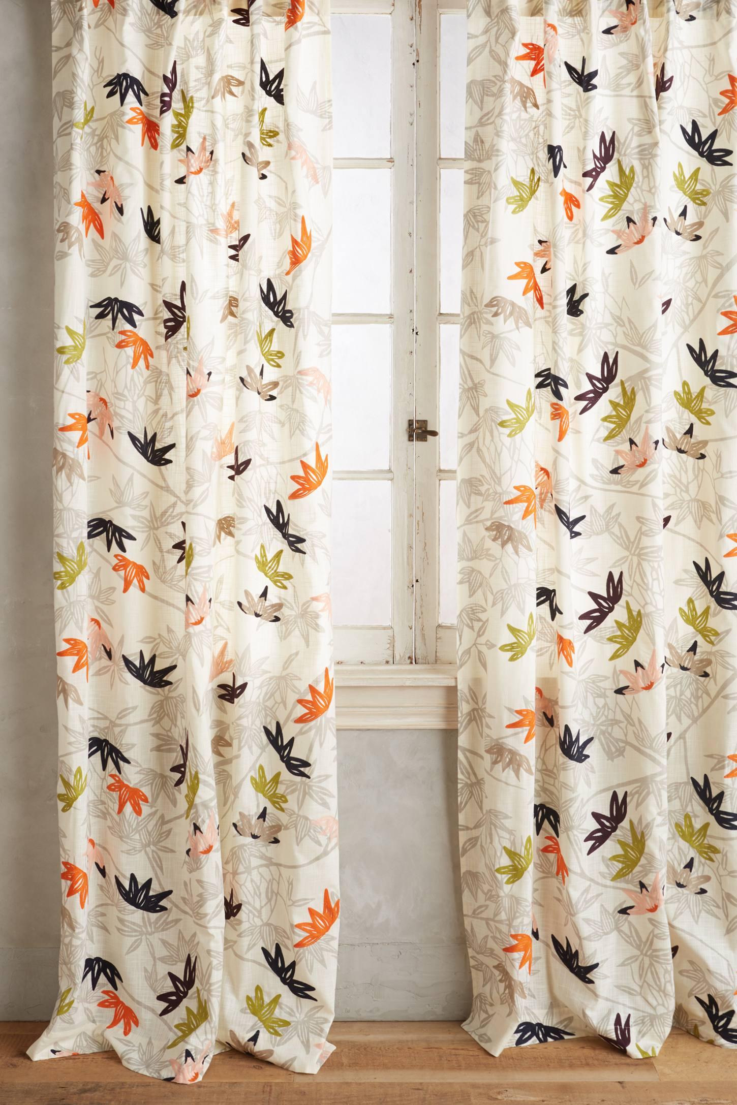 Lotus Leaves Curtain