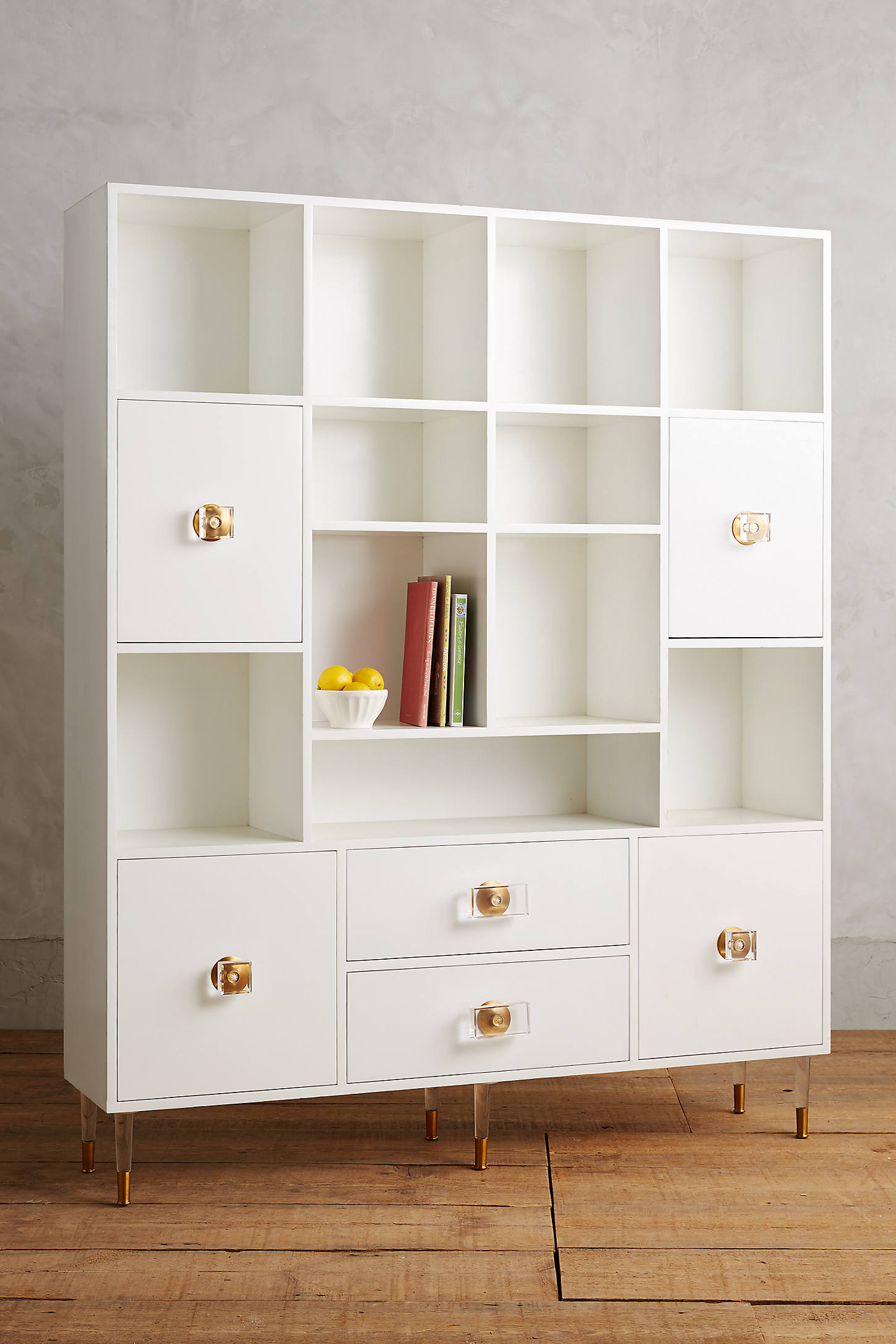Lacquered Regency Storage Cabinet