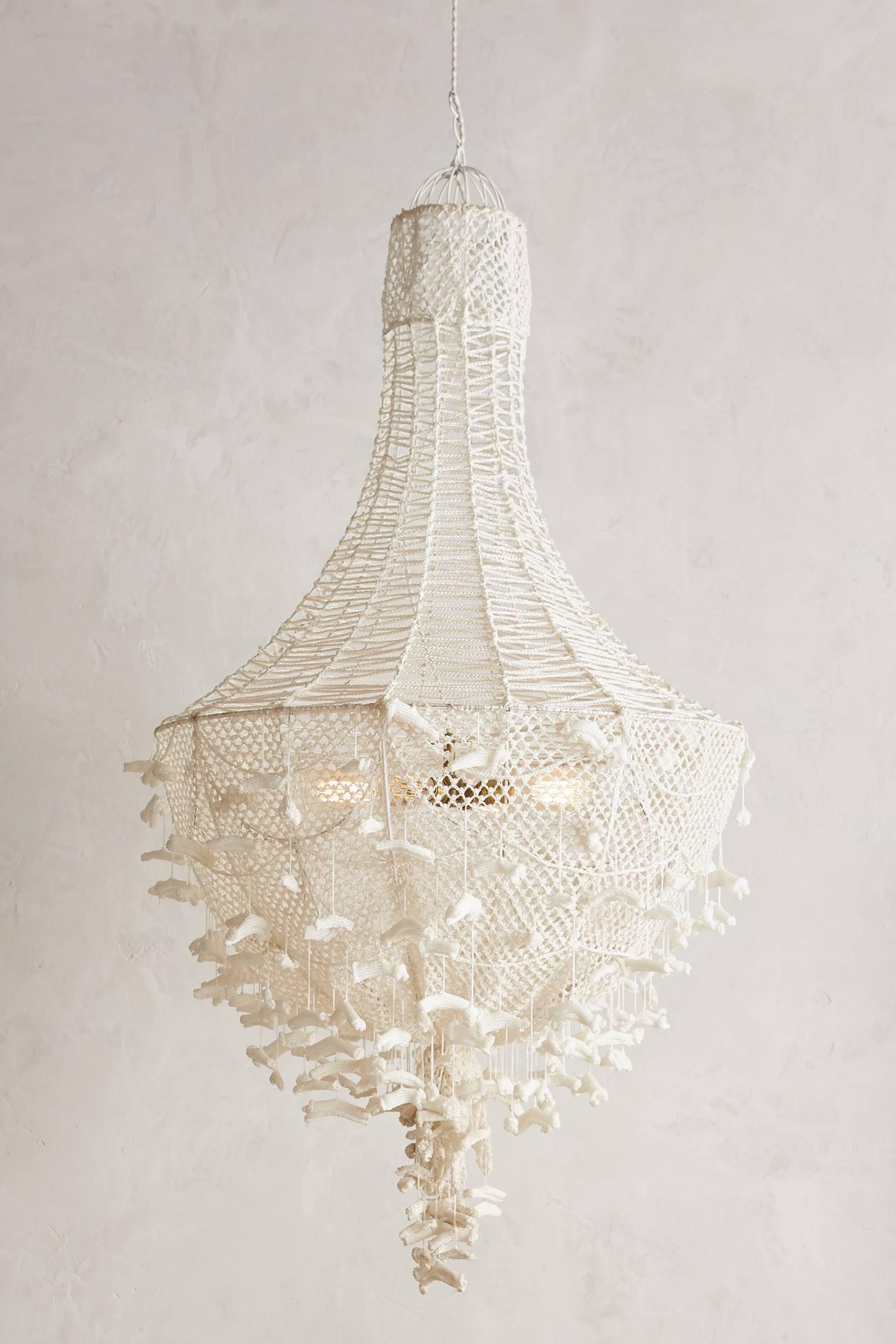 Hand-Knit Chandelier