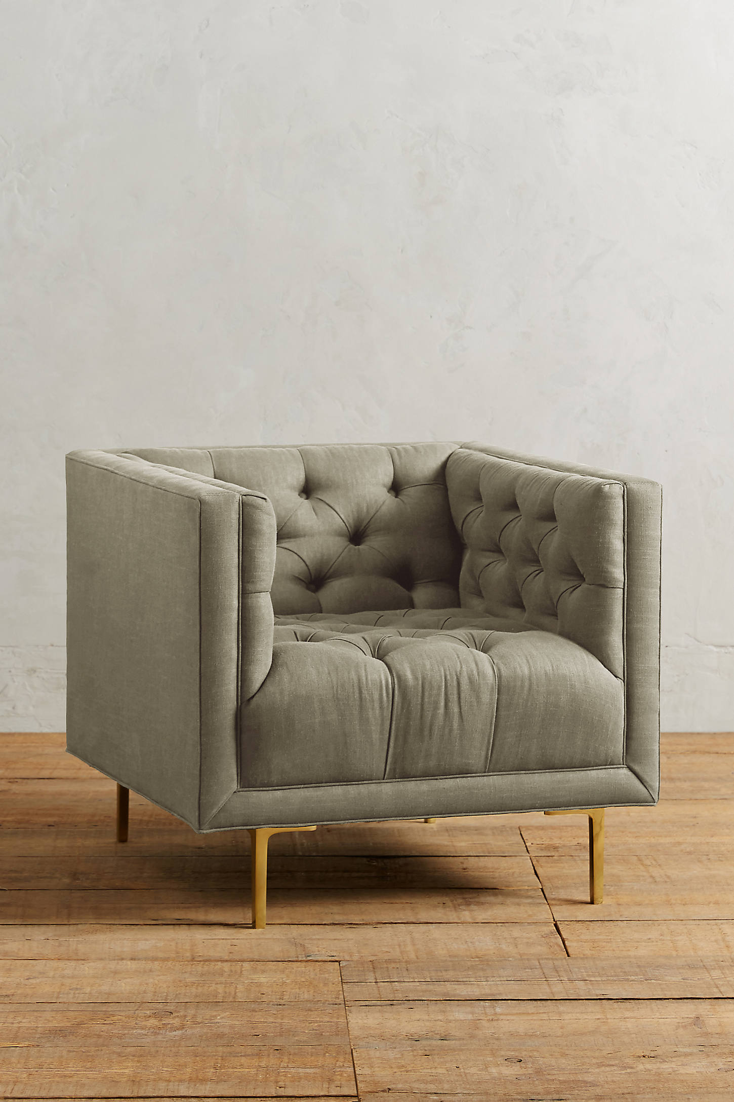 Linen Mina Chair