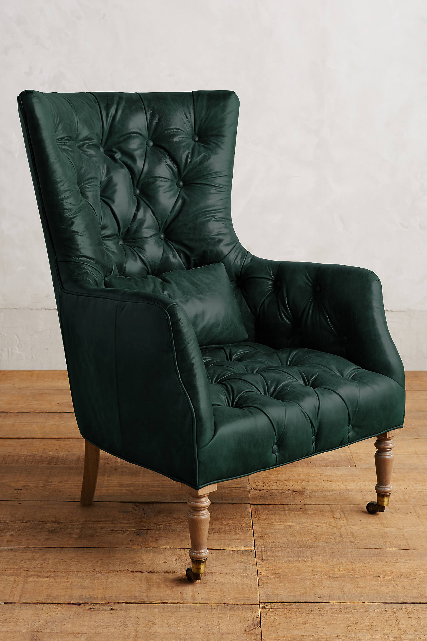 Leather Tufted Julienne Chair