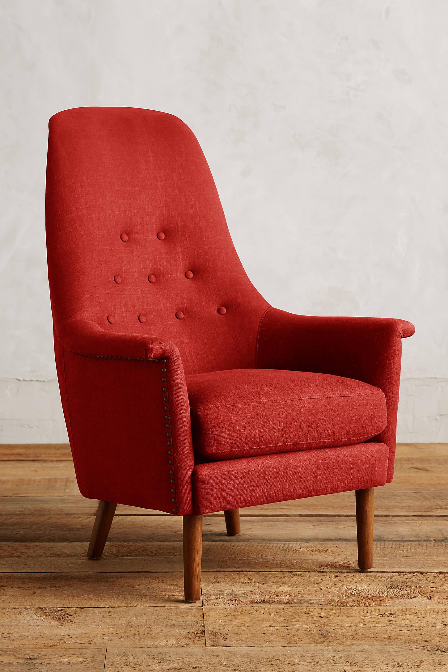 Linen Alistair Chair