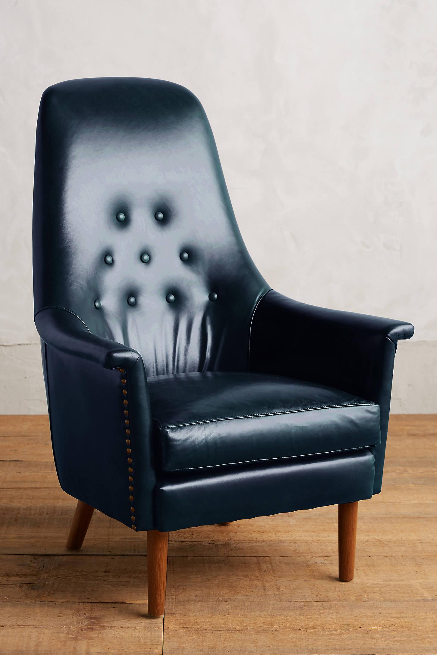 Premium Leather Alistair Chair