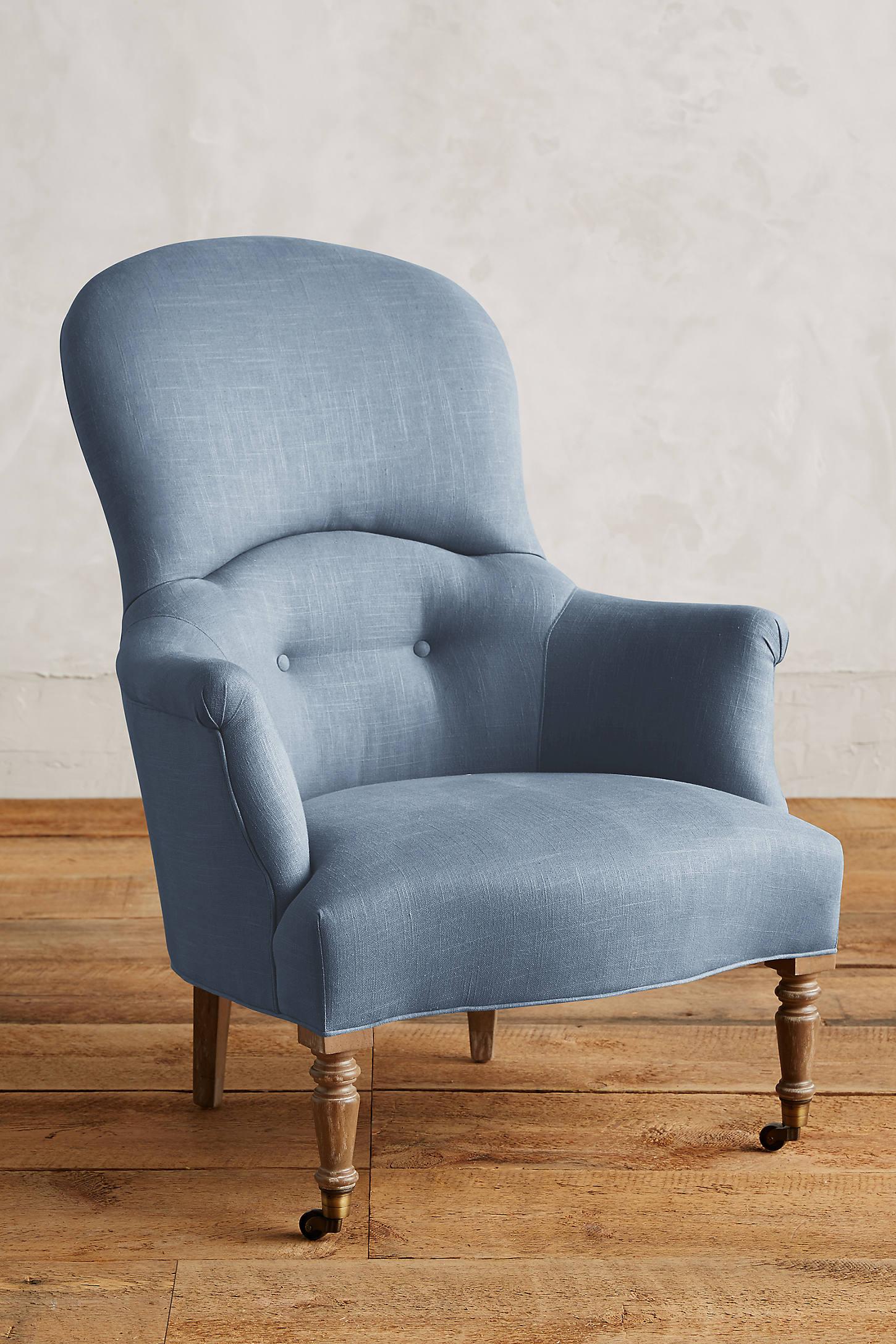 Linen Parker Armchair