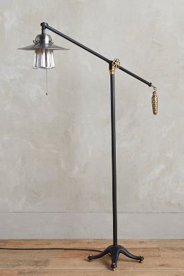 Pinecone Ballast Floor Lamp