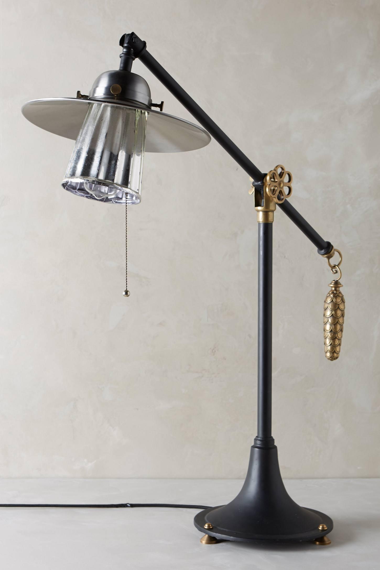 Pinecone Ballast Table Lamp