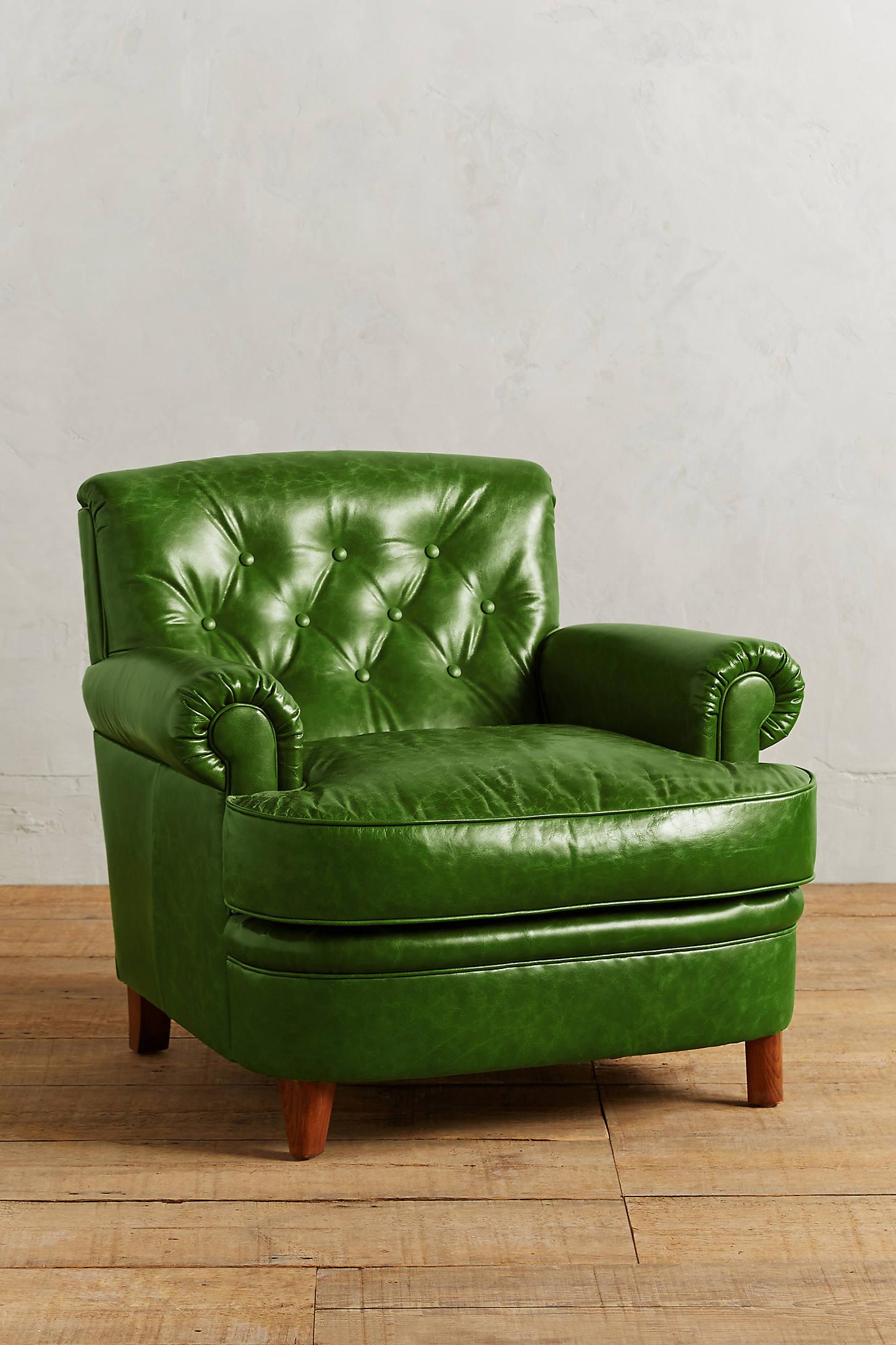 Leather Kimmeridge Armchair