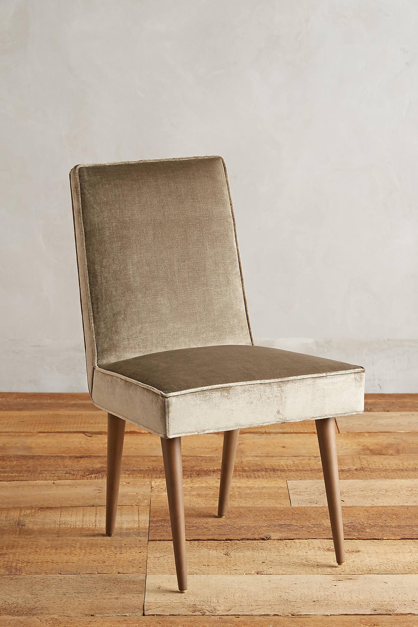 Slub Velvet Zolna Chair