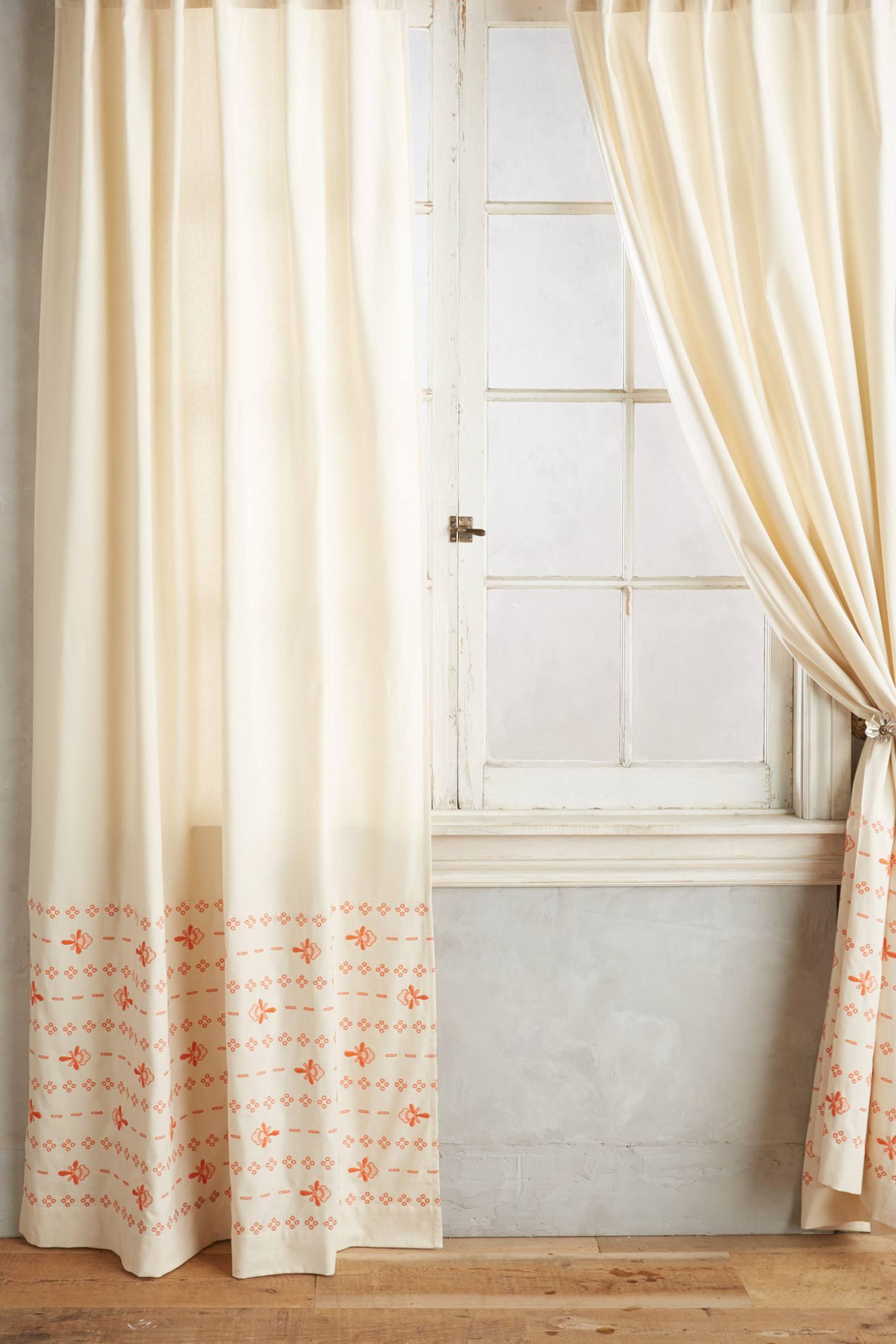 Stitched Floret Curtain