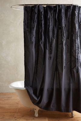 Draped Wisteria Shower Curtain