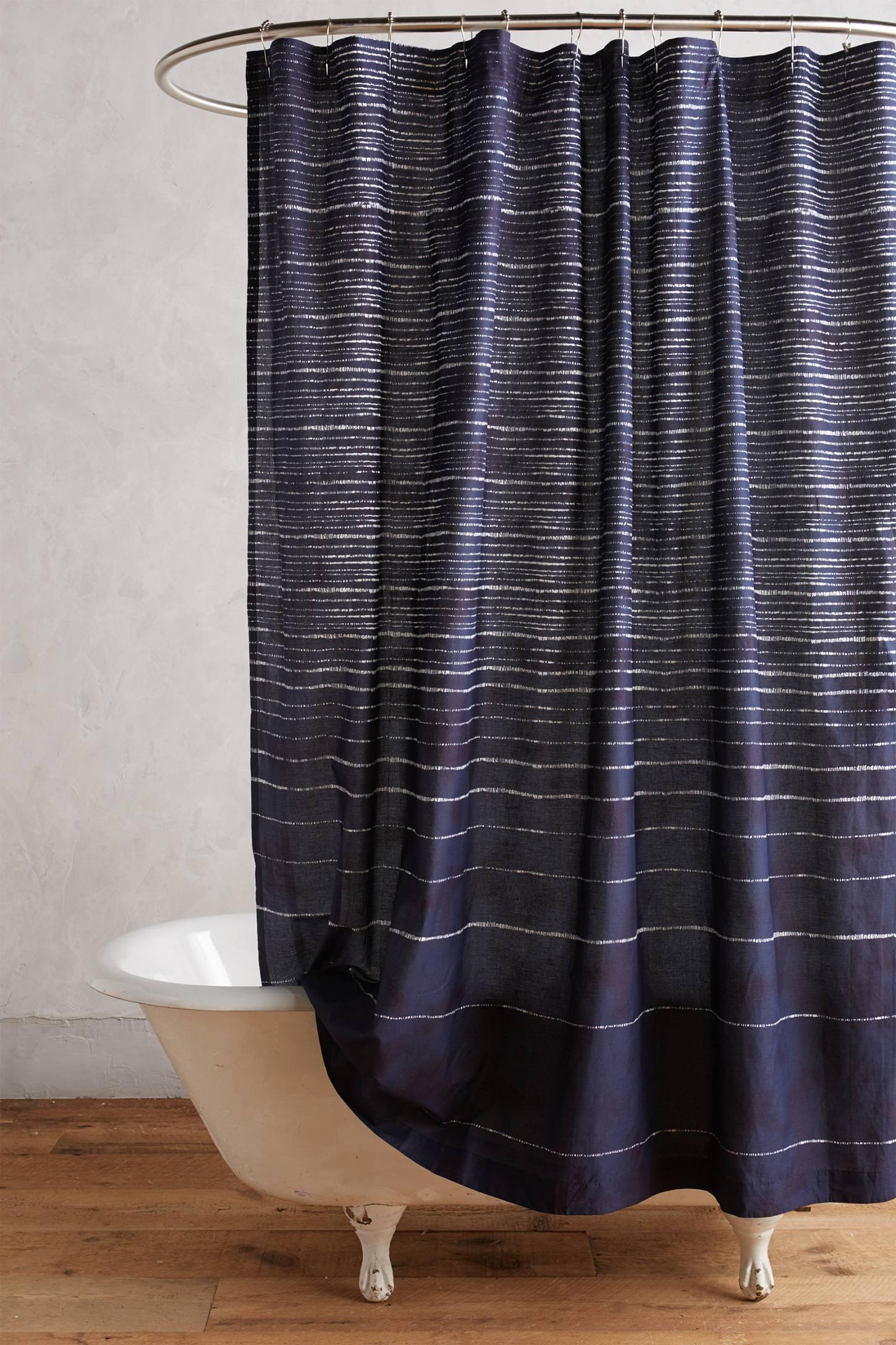 Haro Stripe Shower Curtain