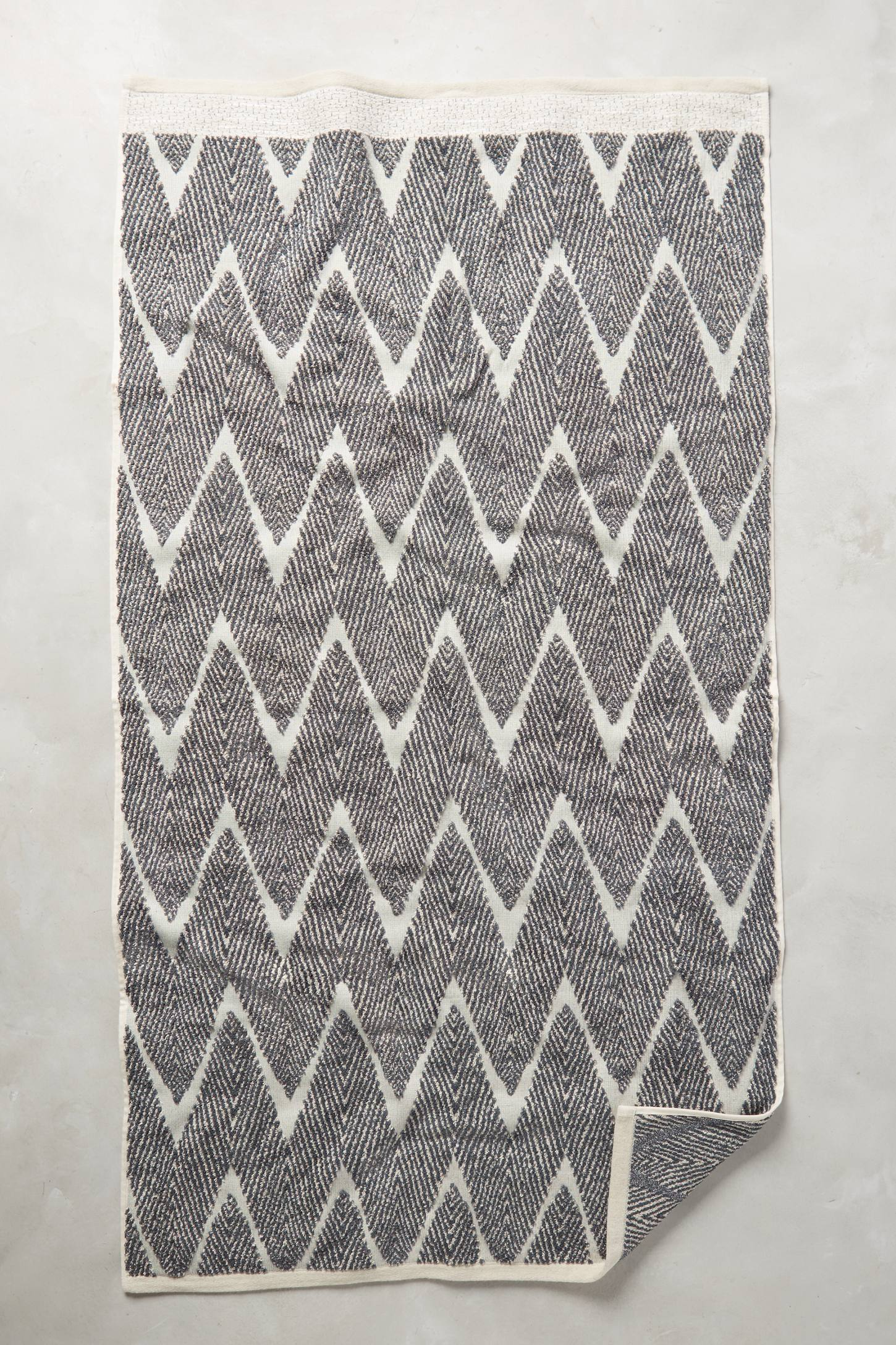 Woven Chevron Towel Collection