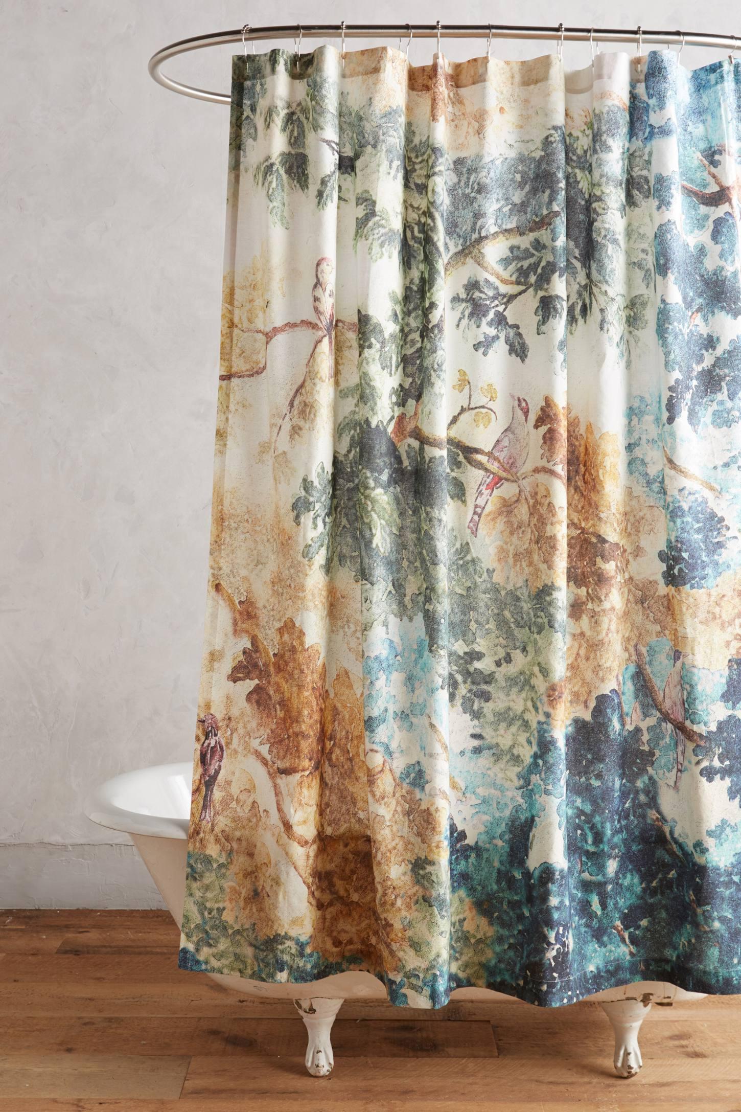 Judarn Shower Curtain