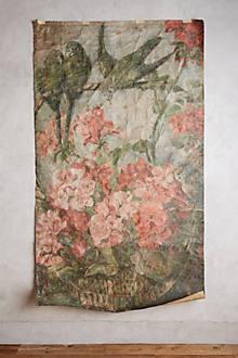 Botanica mural for Anthropologie wallpaper mural