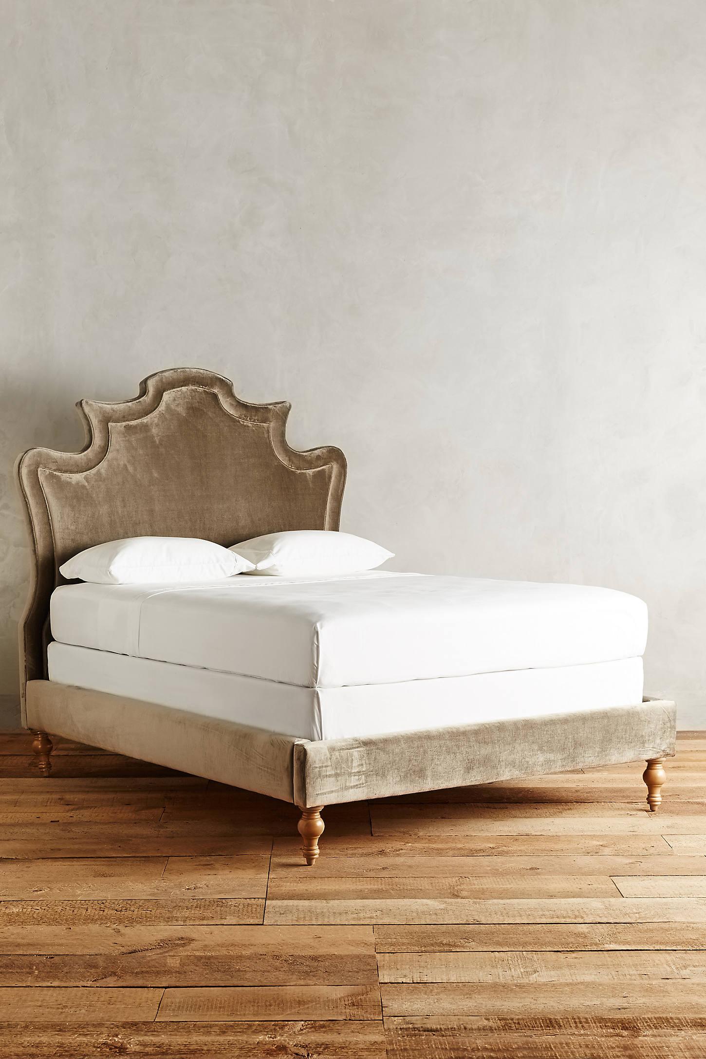 Slub Velvet Ainsworth Bed