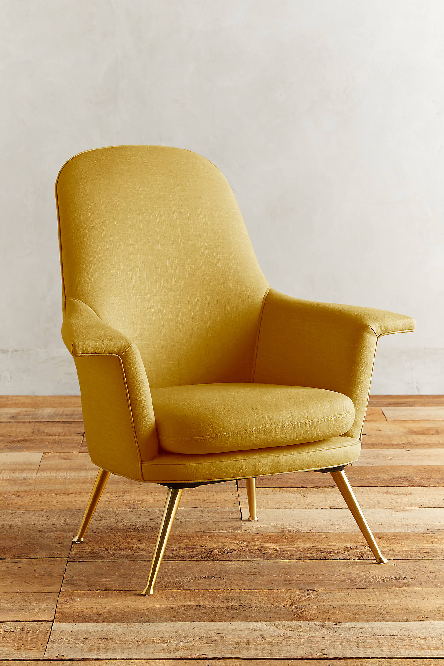 Linen Kimball Chair