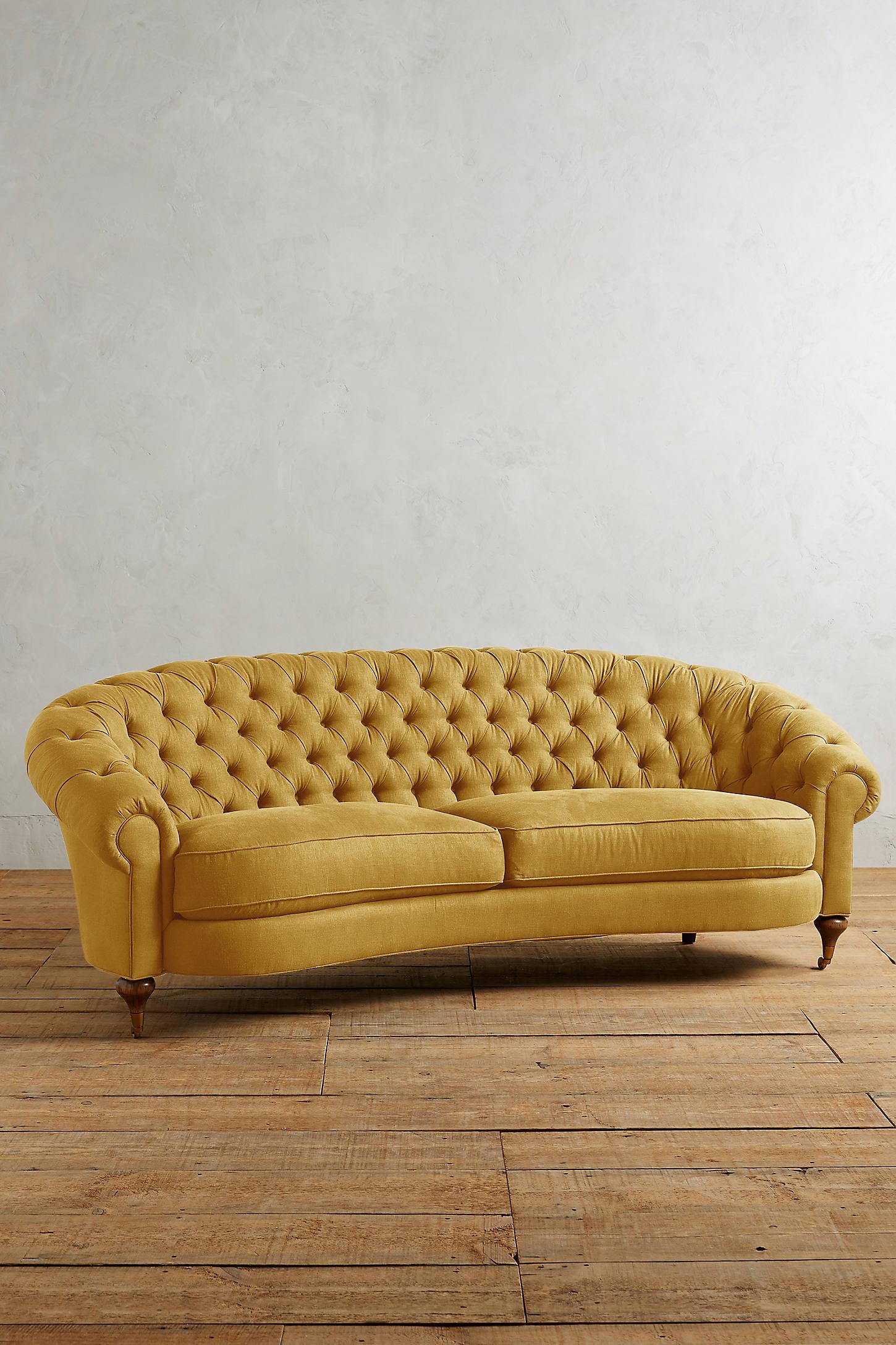 Linen Cadwyn Sofa