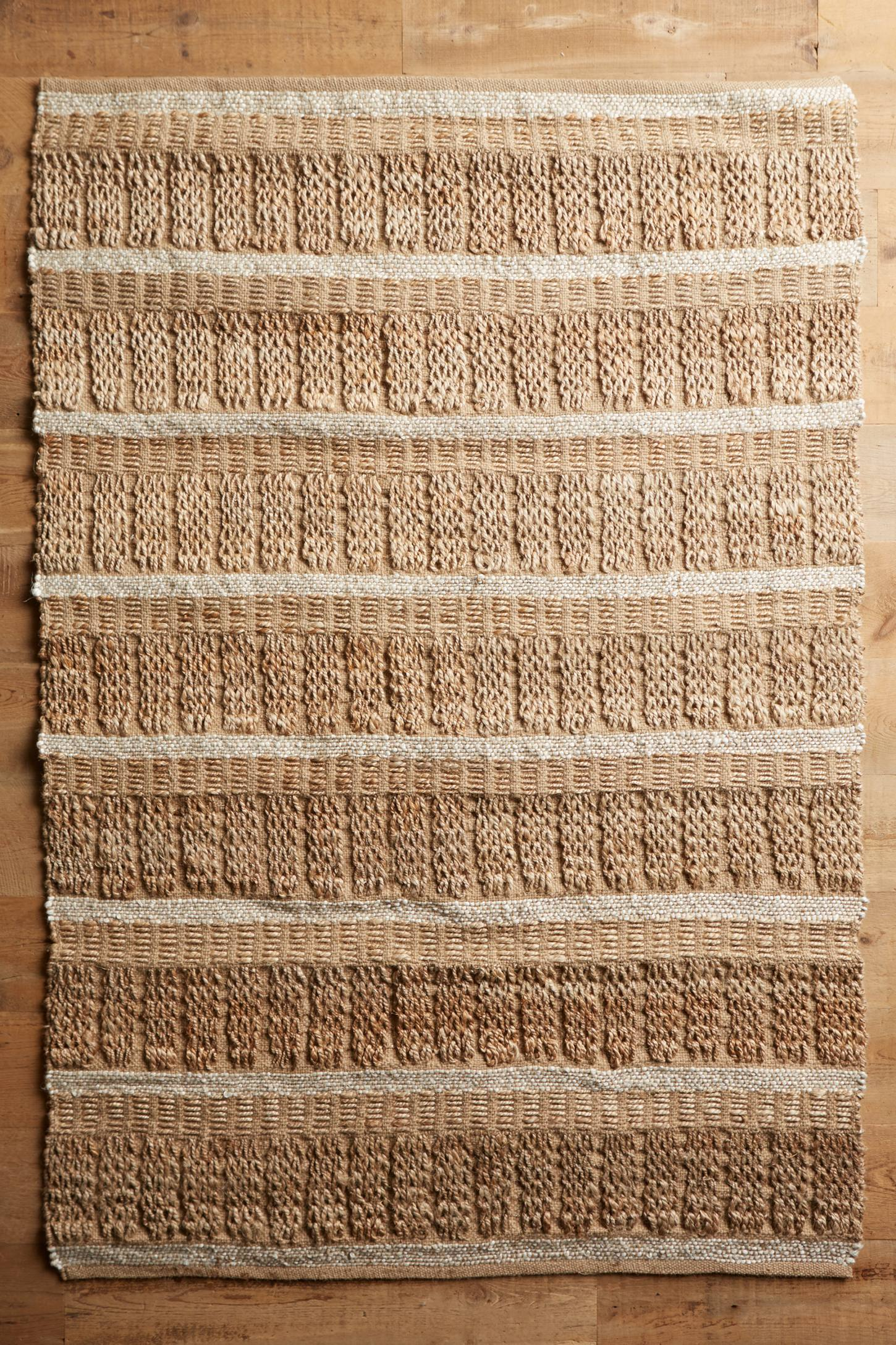Kusari Natural Flat-Woven Rug