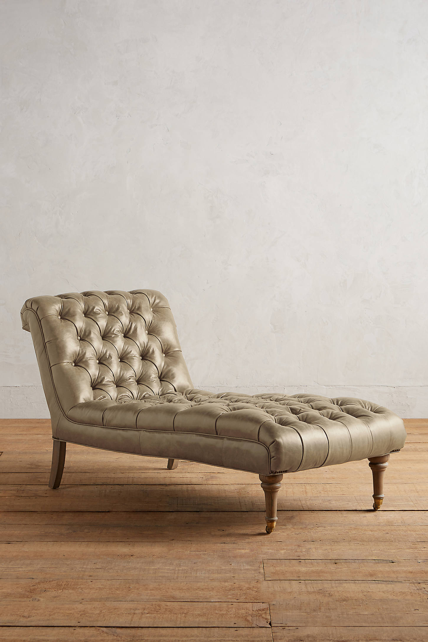 Leather Orianna Chaise