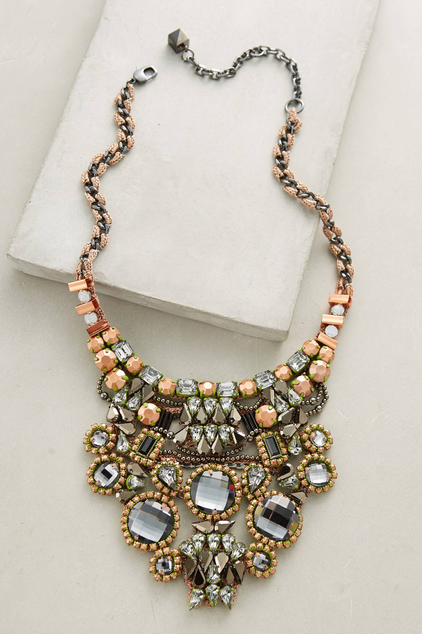 Audria Bib Necklace