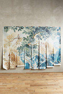 Judarn mural for Anthropologie mural
