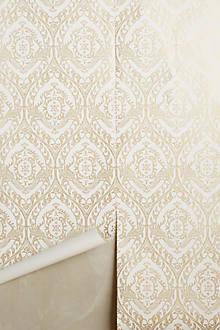 Tiled Crest Wallpaper