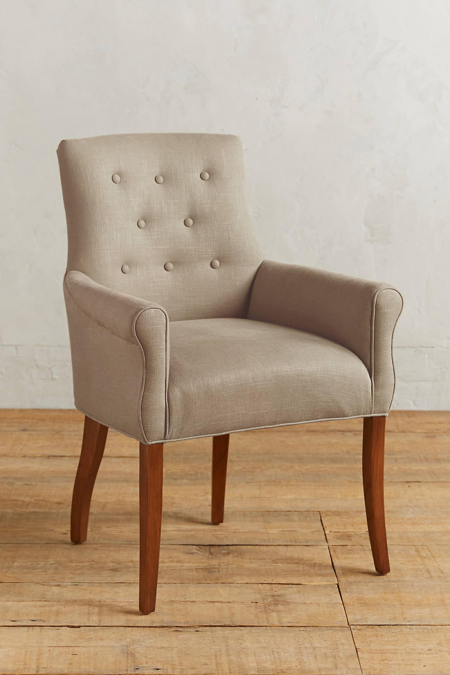 Linen Abner Armchair