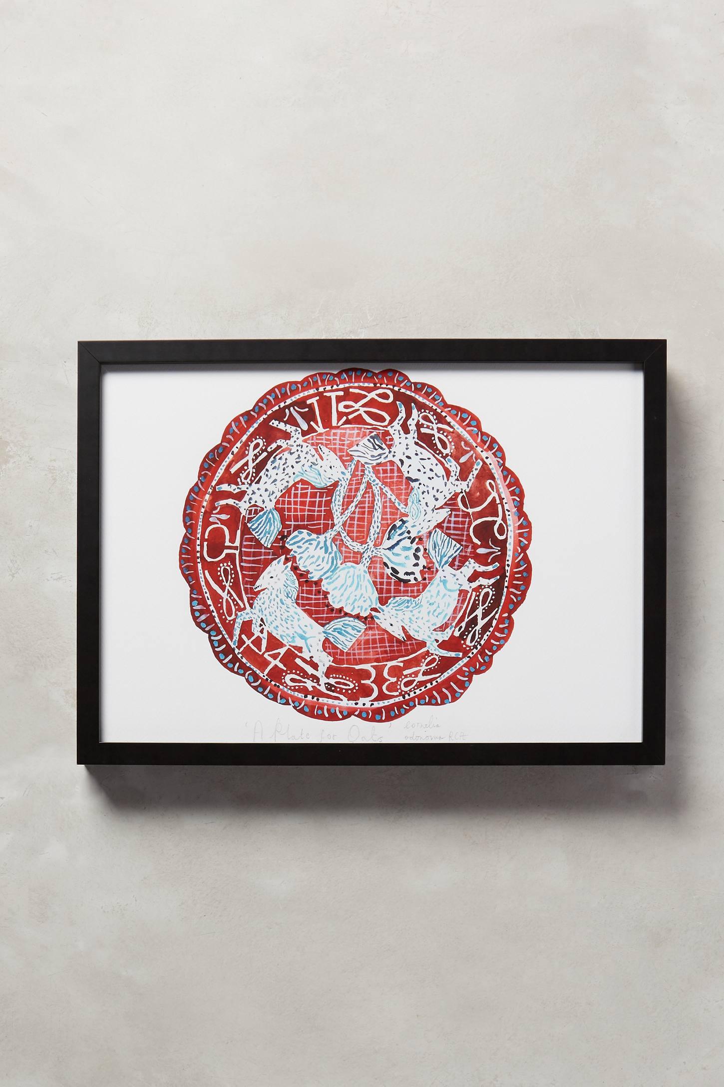 A Plate For Oats Wall Art
