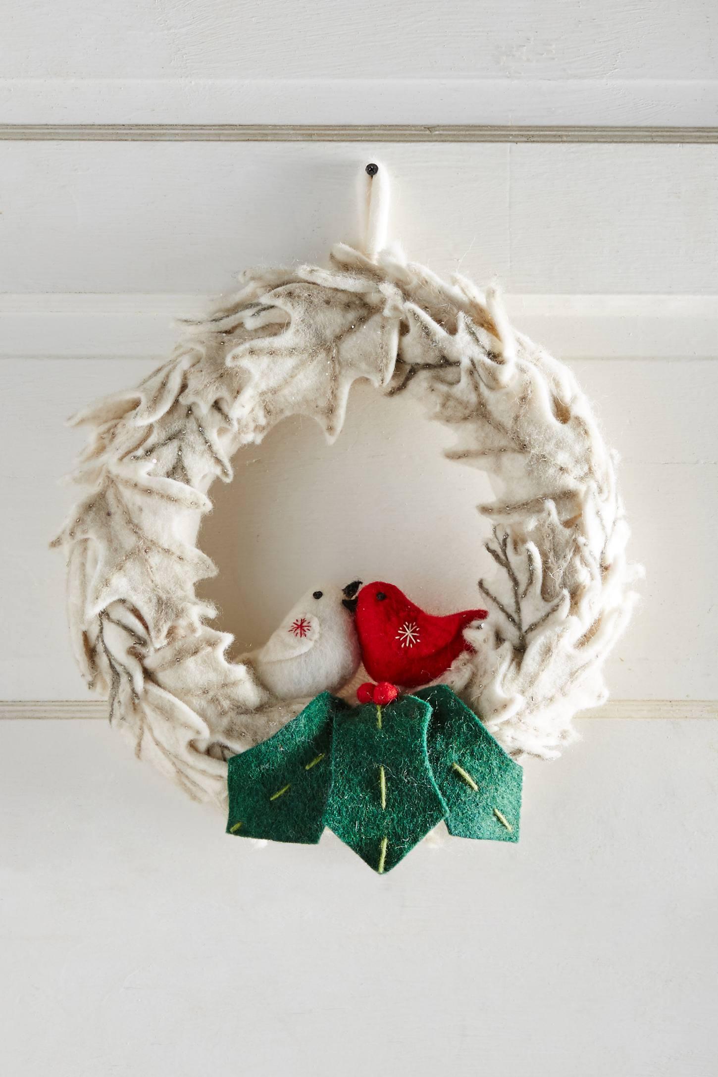 Lovebirds Wreath